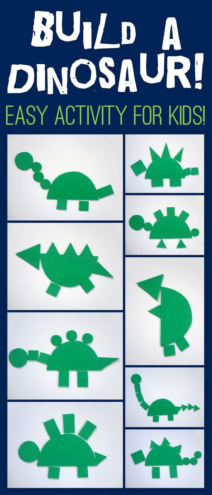Collages25+-+Copy.jpg (686×1600) Make a Dinosaur | Crafts ...
