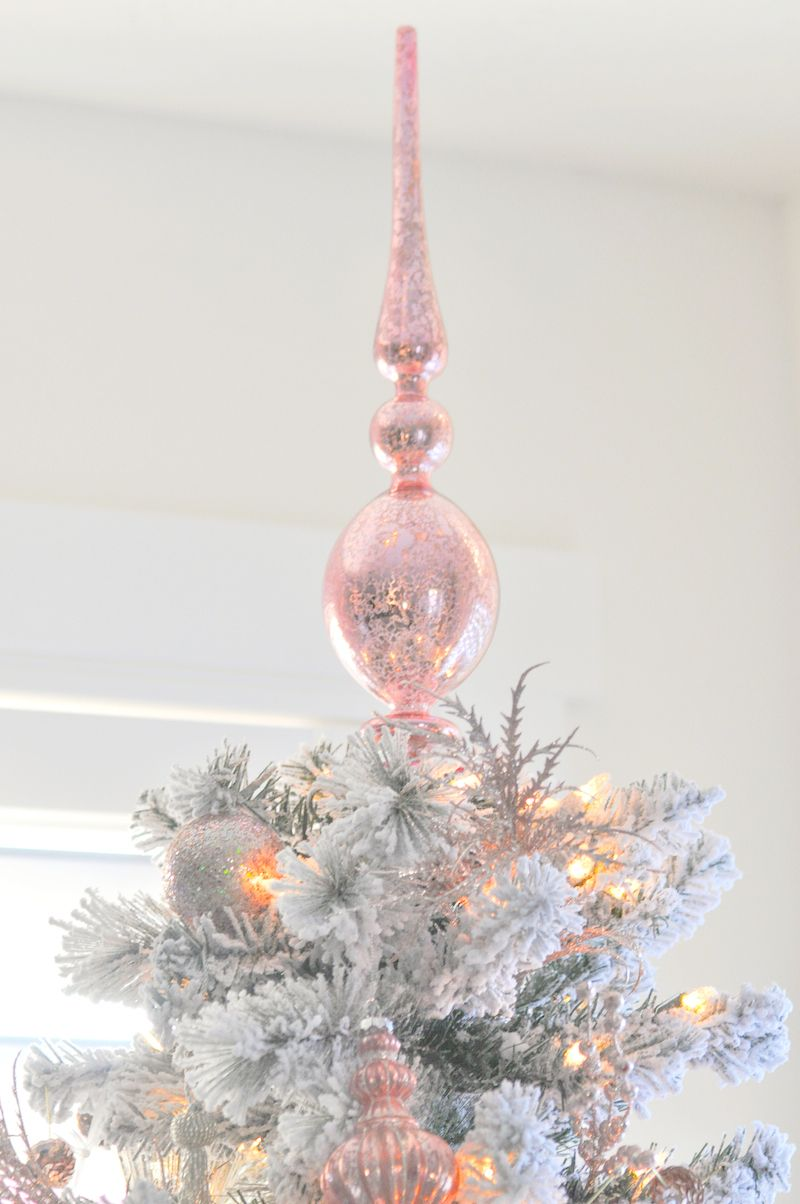 Blush Pink Vintage-Inspired Tree | Awesome Party Ideas | Pinterest ...