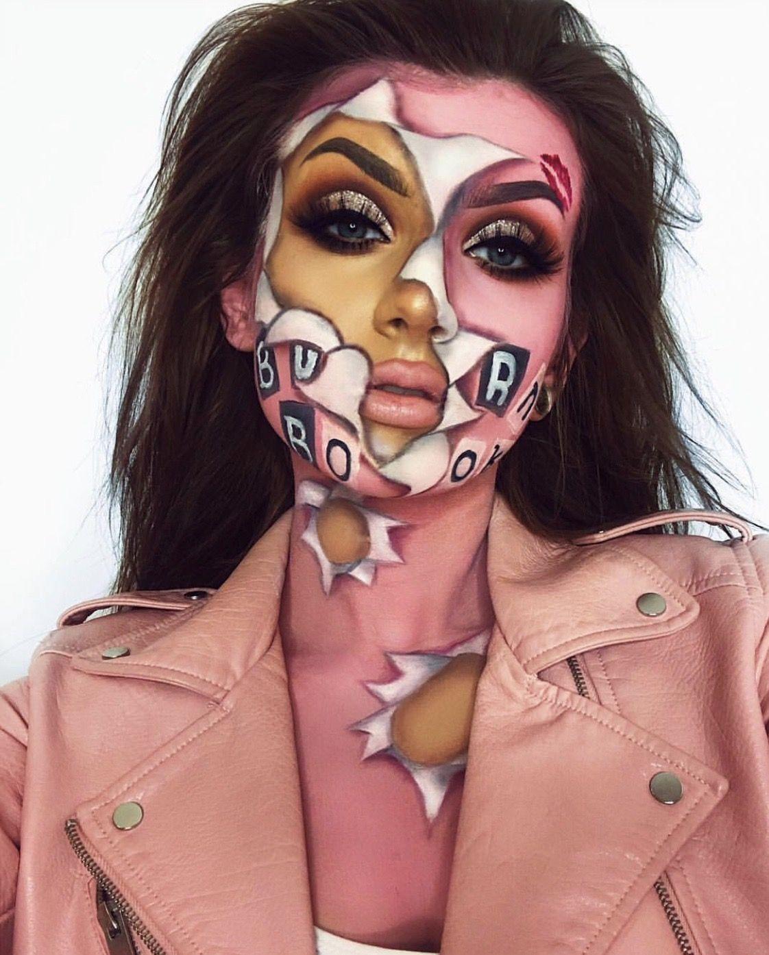 Burn Book Halloween Makeup Halloween makeup looks, Cool
