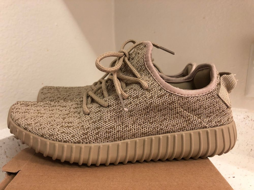 fb2ddbe3845 AUTH BNIB YEEZY BOOST 350 MOONROCK TAN 7.5 SNEAKER SHOES ART AQ2661 BARNEYS  WEST  YEEZY  SNEAKER