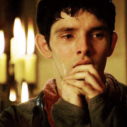 When Merlin cries