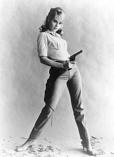 Jane Fonda in Cat Ballou (1965)