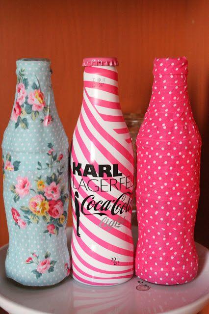 boulevard pink diy deco tape coca cola feria de abril diy room decor pinterest bottle. Black Bedroom Furniture Sets. Home Design Ideas