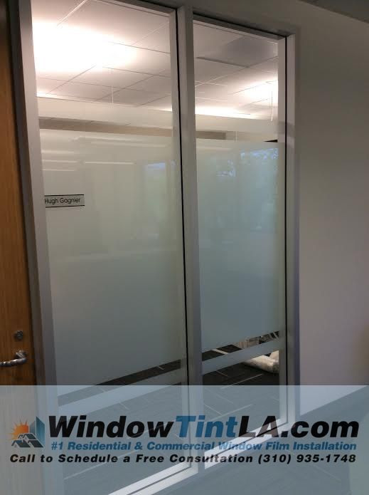 Create Privacy In Your Office Space By Installing A Frosted Glass