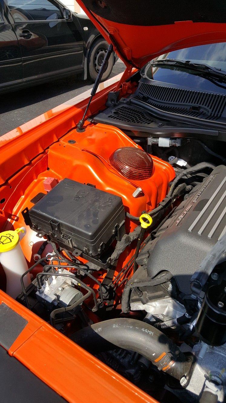 Dodge Challenger Carbon Fiber Strut Tower Cover By Sam Kimmel At Kimmel Fabrication Studio Llc In Fort Wayne Indiana D Dodge Challenger Scat Pack Challenger