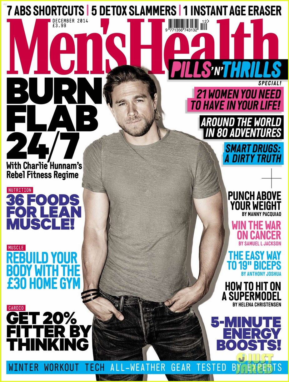 charlie hunnam takes the december cover of mens health uk 04