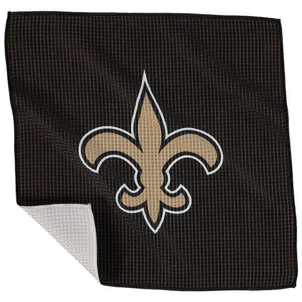 """New Orleans Saints 16"""" x 16"""" Microfiber Towel"""