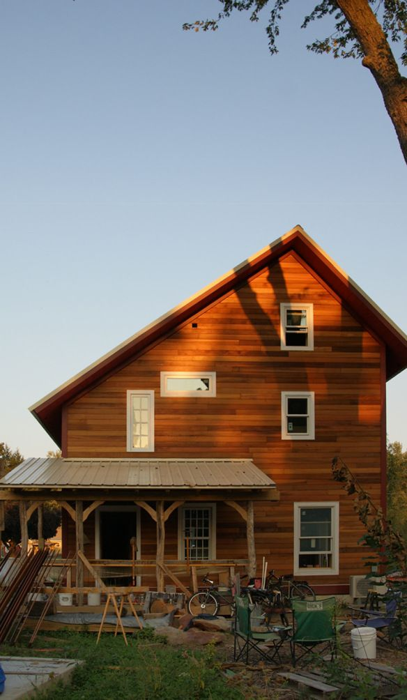 Siding Done 9 13 11 Saltbox Houses House With Porch House Roof