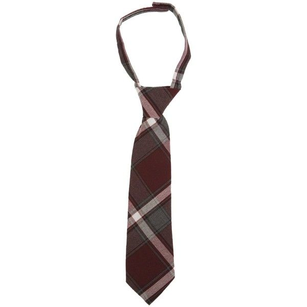 French Toast School Uniforms Adjustable Plaid Tie Boys (12 CAD) ❤ liked on Polyvore featuring uniform