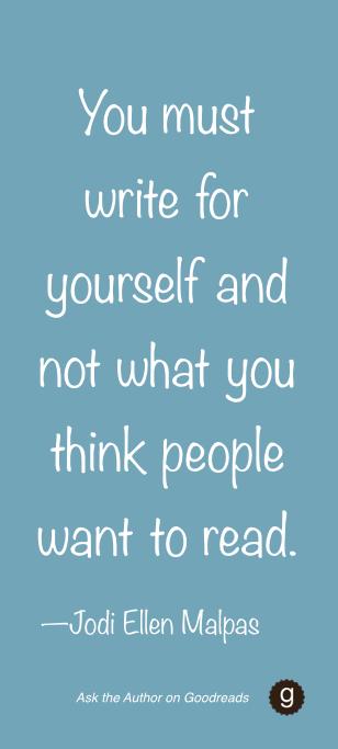 What's your advice for aspiring writers? — Jodi Ellen Malpas Q&A