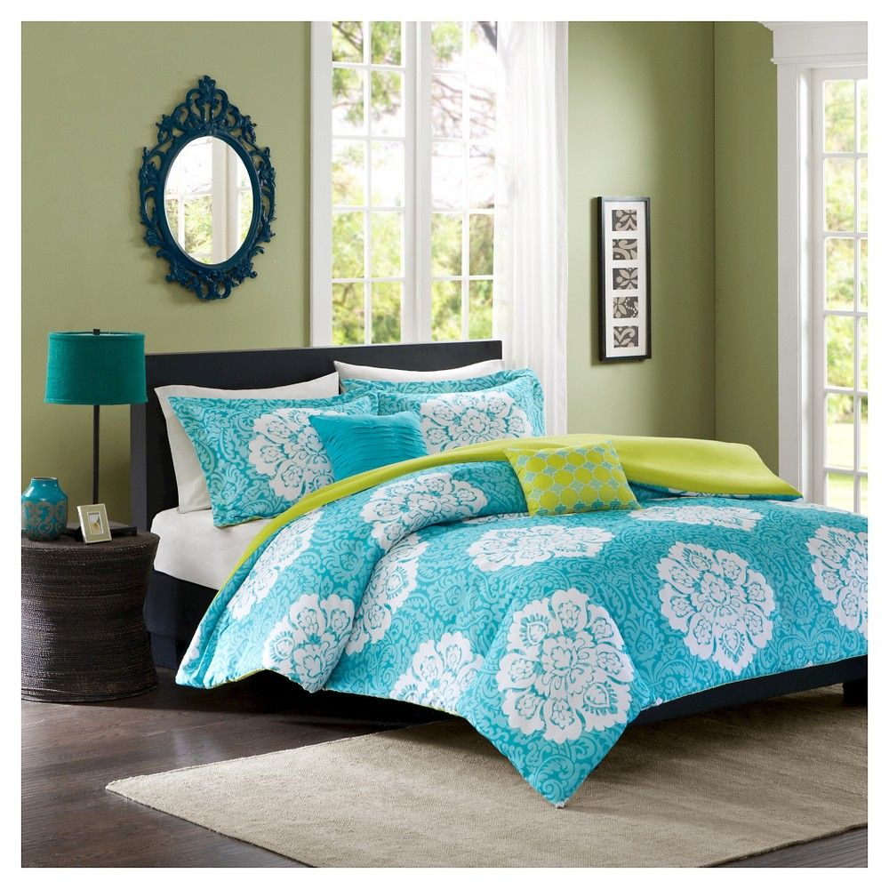 Becca Duvet Cover Set King California King 5pc Blue Products