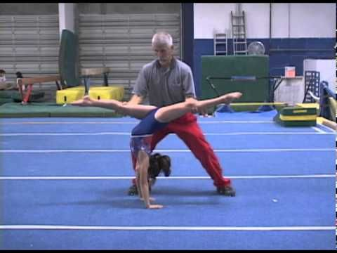 back walkover spot  youtube  back walkover gymnastics