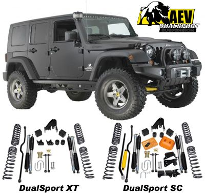 Aev Lift Kits >> Aev 3 5 Inch Susension Systems For 07 09 Jeep Wrangler Jeep