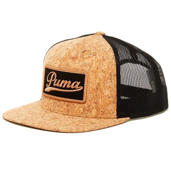 huge selection of d49a8 53970 PUMA Shophand Snapback ( 15) ❤ liked on Polyvore featuring accessories, hats,  faux cork, snapback hats, puma hat, brimmed hat, band hats and snap back  hats