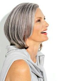 Awesome Grey Hair With Highlights And Lowlights Hair Pinterest Grey Short Hairstyles Gunalazisus