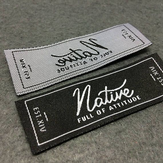 iron on Clothing labels Custom Clothing Labels heat transfer labels iron on clothing label Custom Woven labels name labels