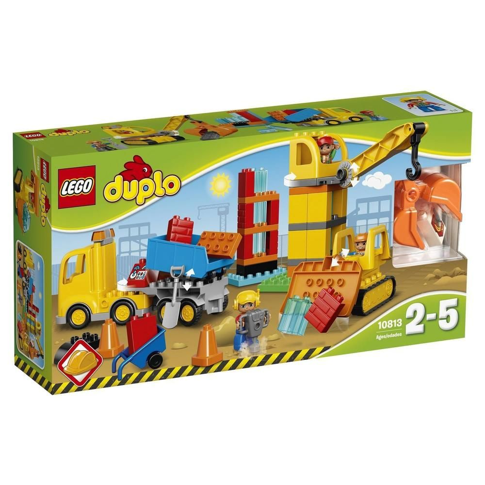 Lego Duplo Big Constructions Site Buying Toys Pinterest