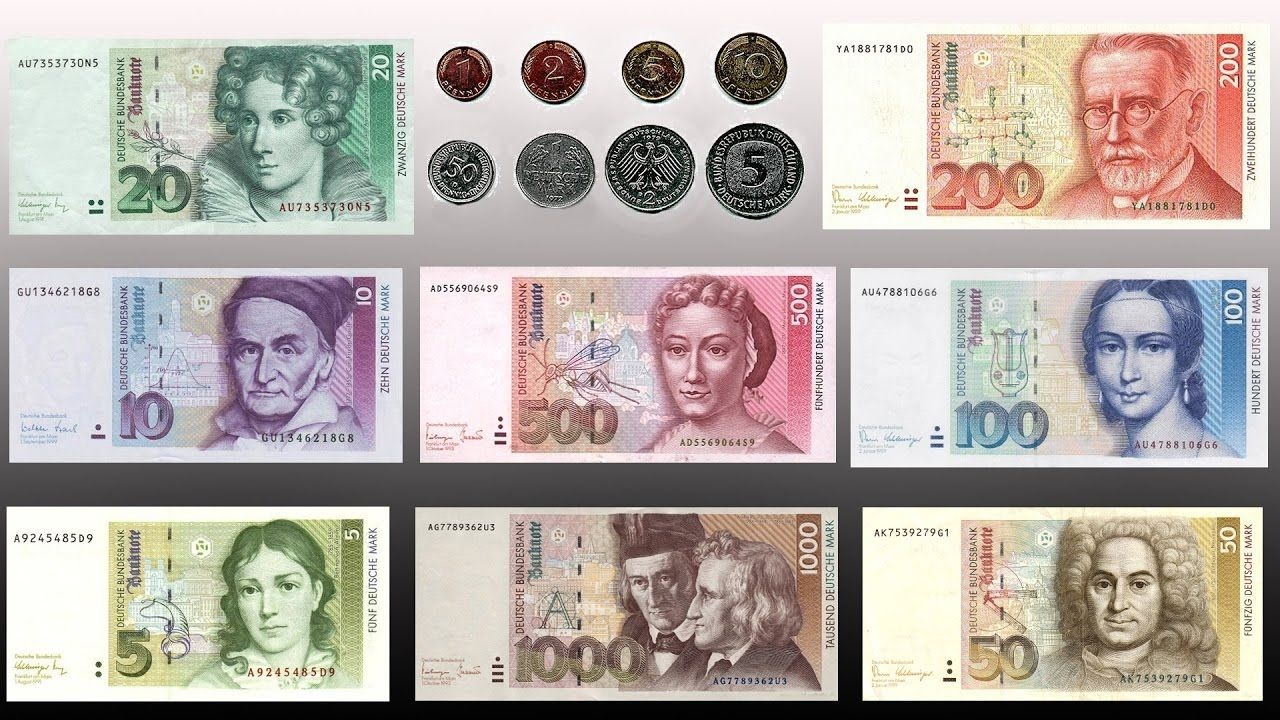 Deutsche mark (With images) German, Deutsch, Marks