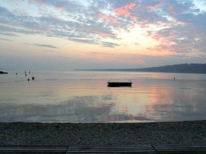 Lake Geneva at 5 am