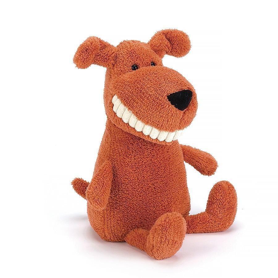 Toothy Mutt Plush dog, Jellycat, Jellycat toys