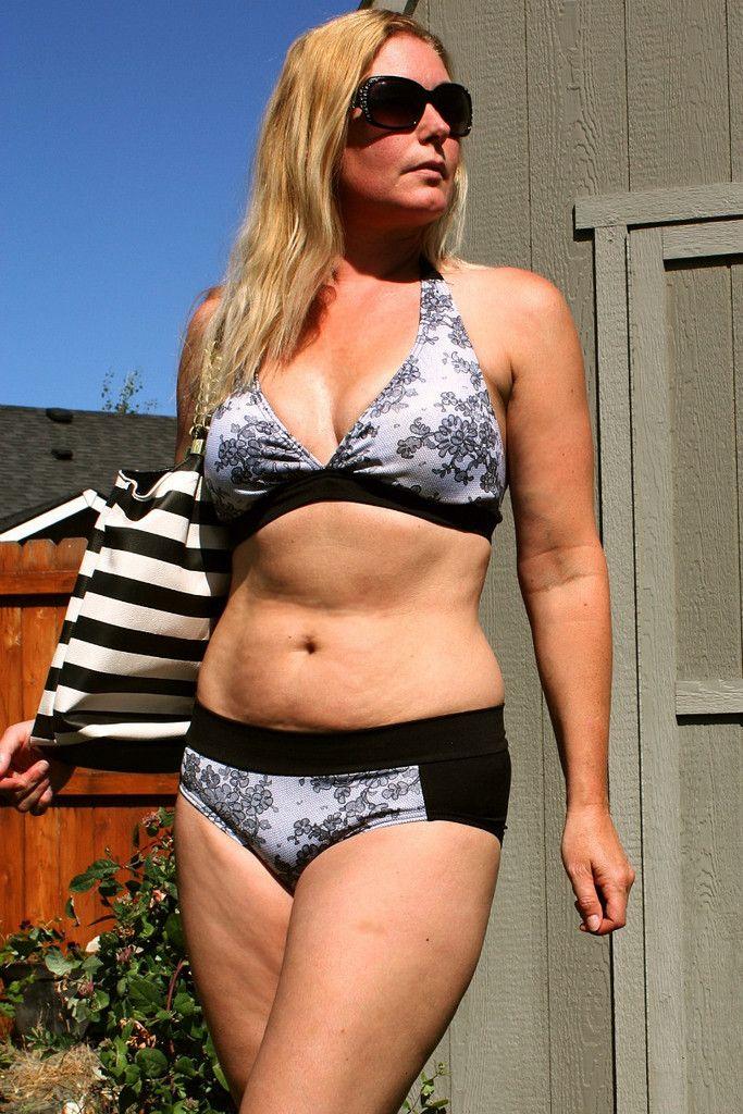 Marilyn Bombshell Bikini Sewing Pattern | Bikini and swimsuit PDF ...