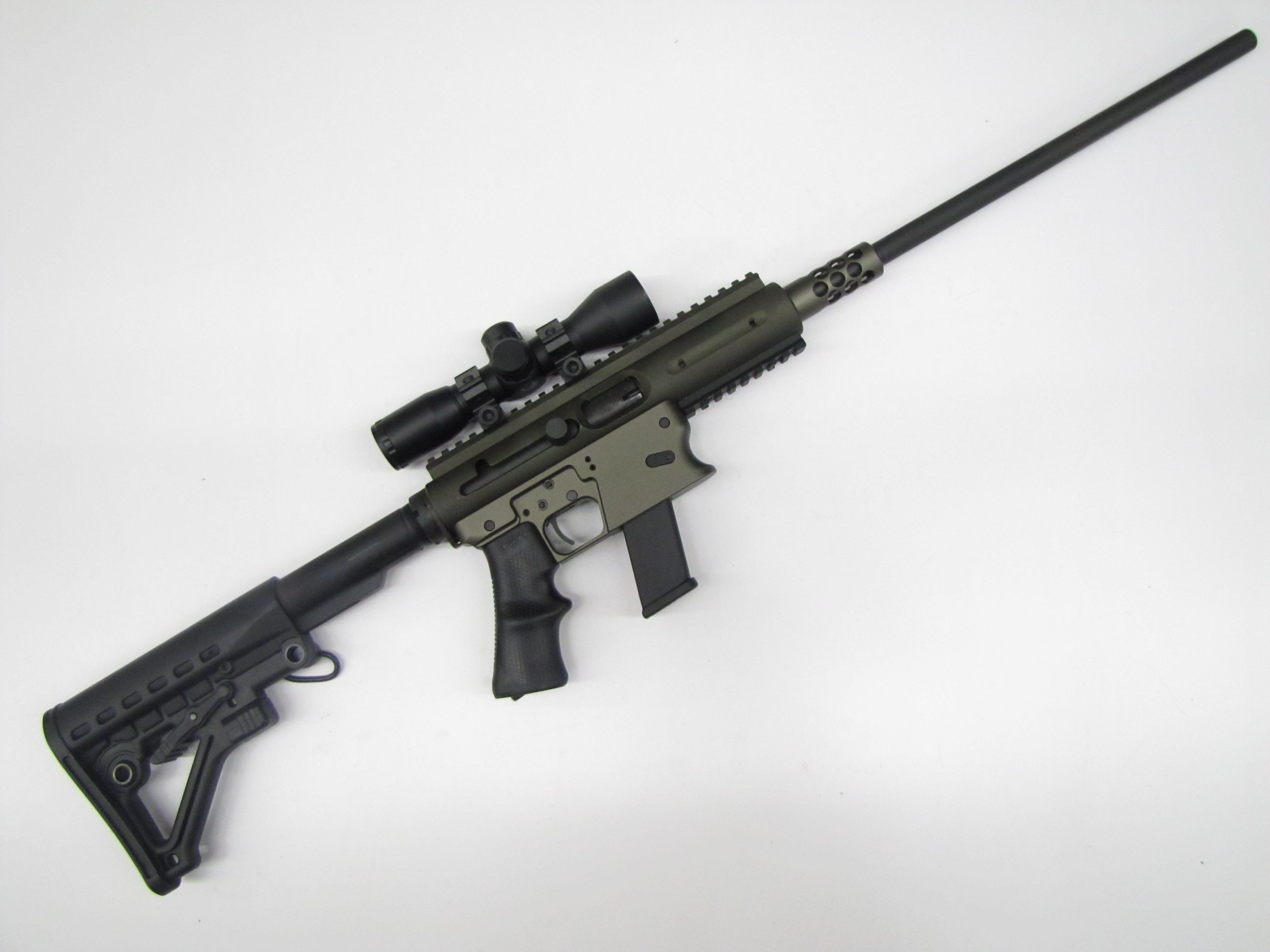 Aero Survival Rifle (ASR) in 9mm by TNW, Olive Drab , Non