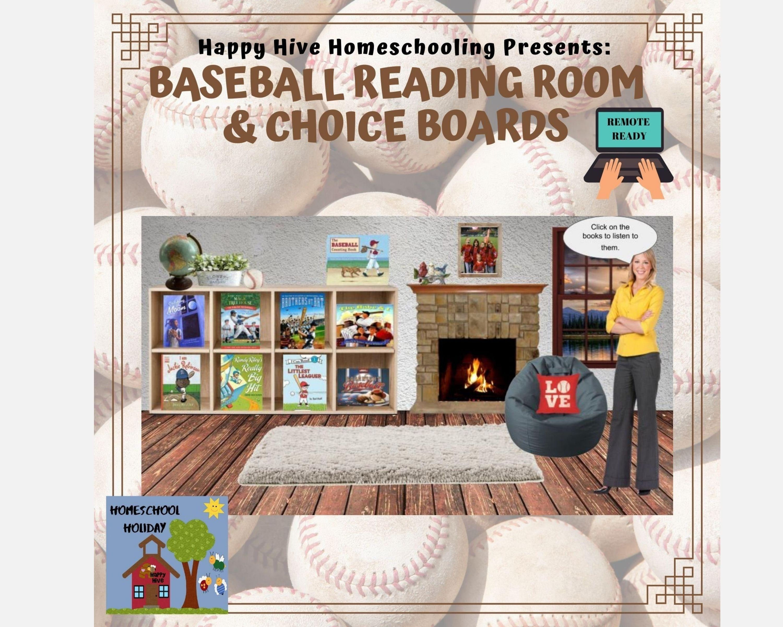 Baseball Virtual Classroom Reading Room Slides