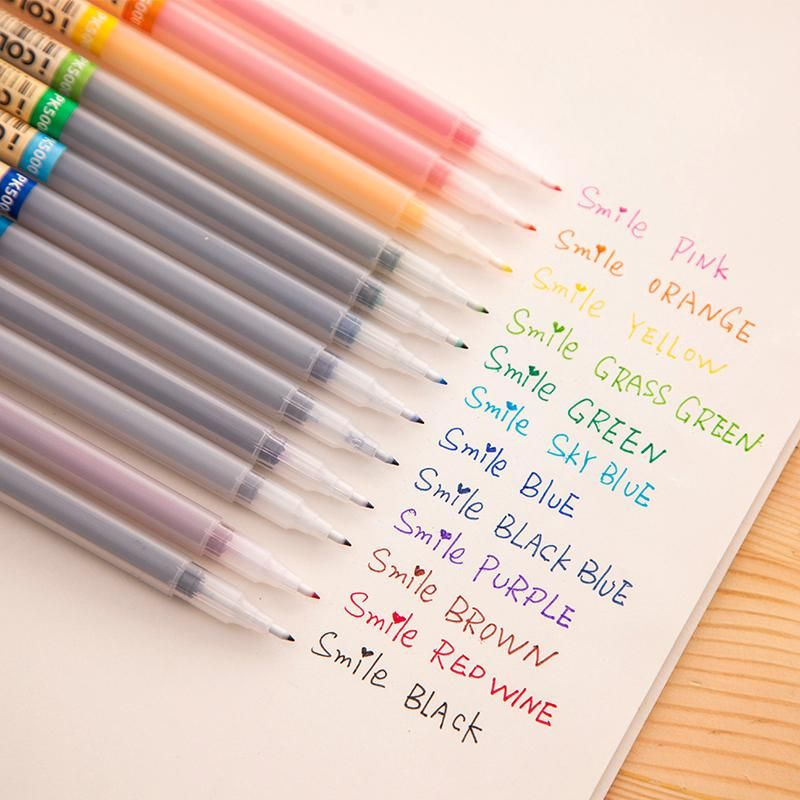 Feature Bright Colors Our Drawing Marker Pens Has A Spectrum Of