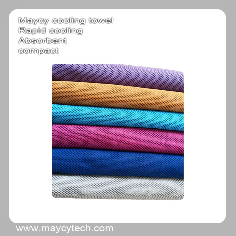 30x100cm 65x100cm 100 Polyester Cooling Towel Any Color In 2020