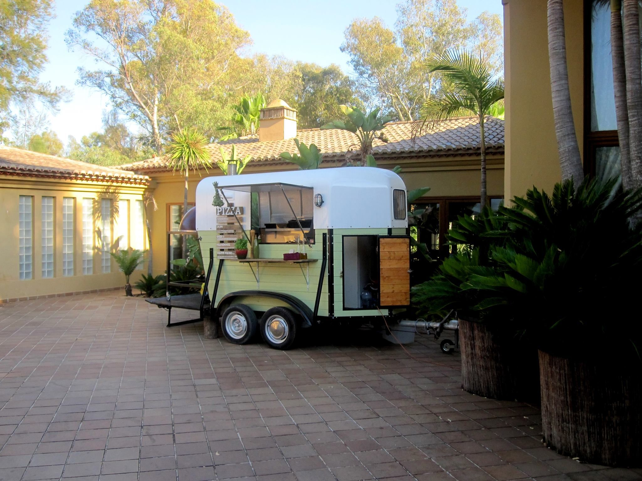 horse box pizza trailer in portugal trailer the little