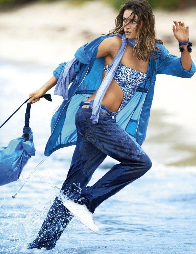 Vogue Paris April 2014 - #indigos #focusonjeans®