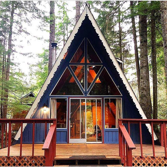 Aframe Cabin Cabinlife Cabininthewoods Regram Via