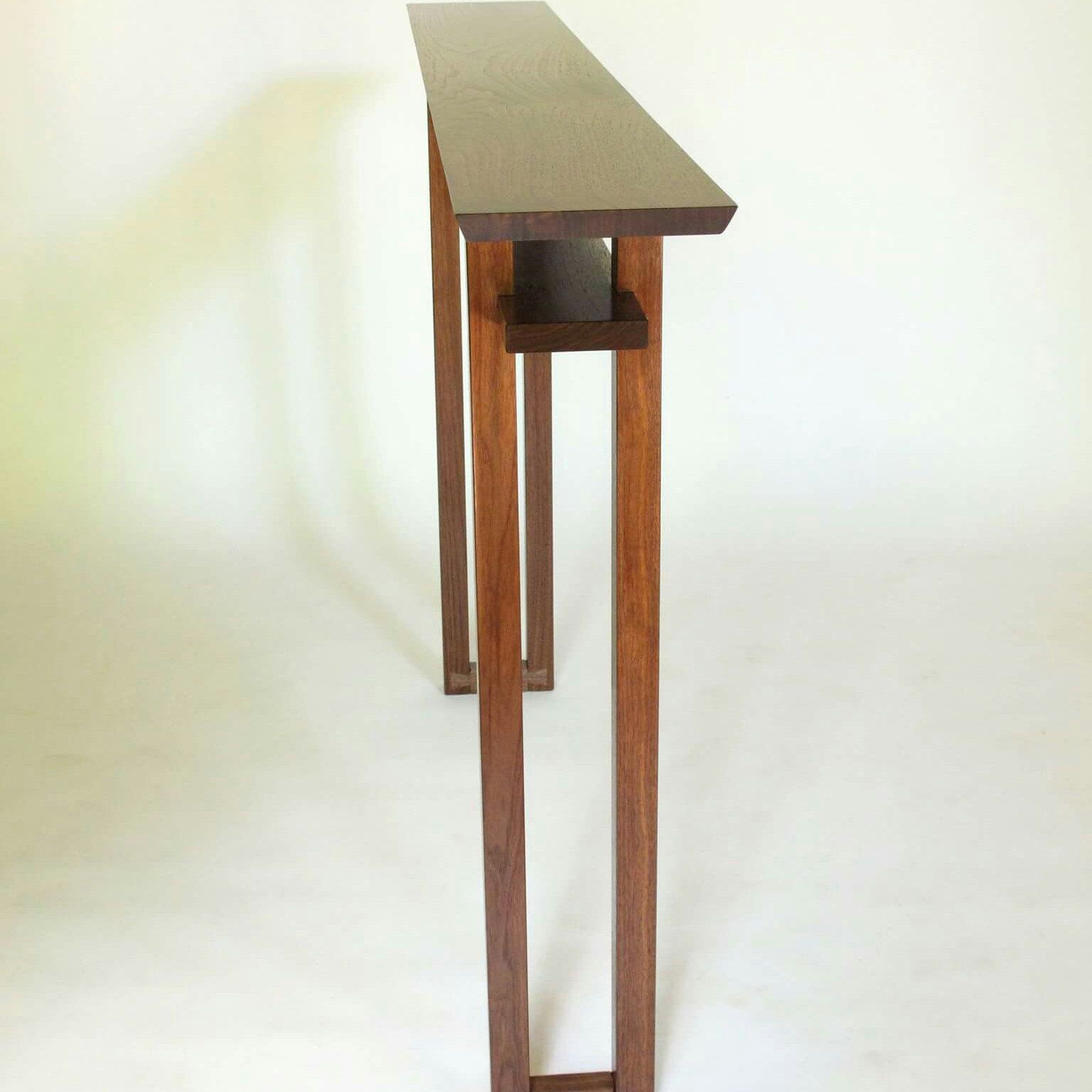 Entry Tables For Small Spaces very narrow console table for small spaces: hall table/ entry