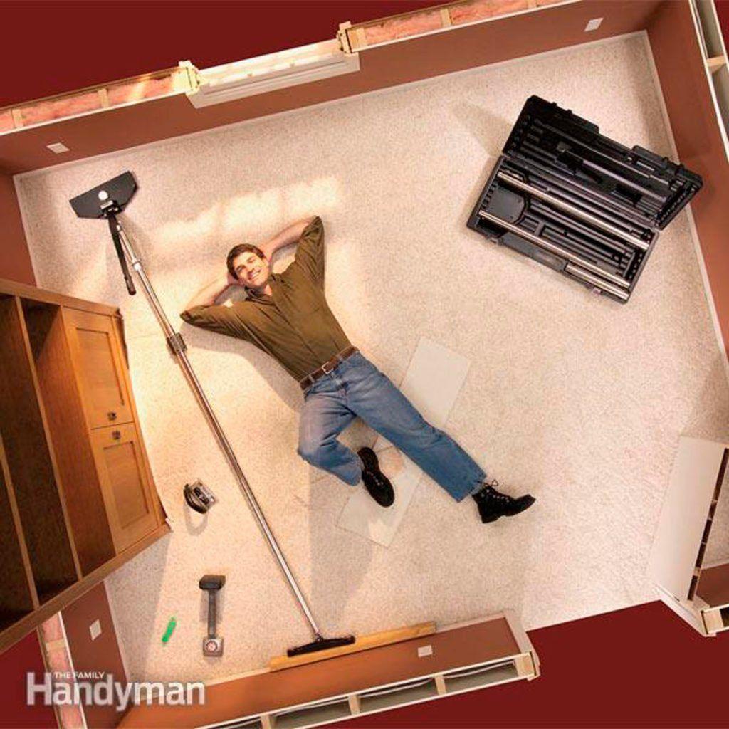 How to Restretch a Carpet Carpet repair, Diy carpet, How