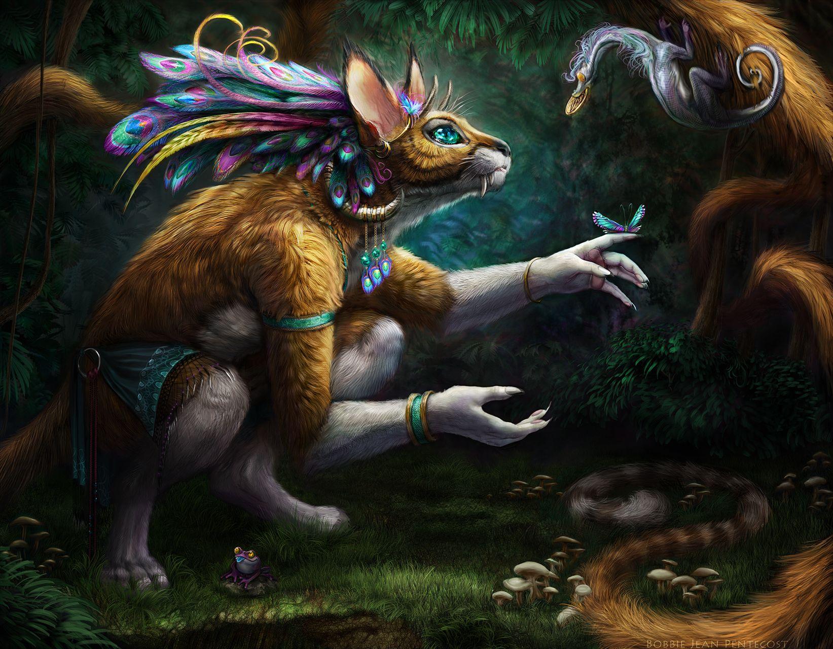Résultats de recherche d'images pour «animal fantasy»