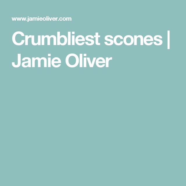 Crumbliest scones | Jamie Oliver