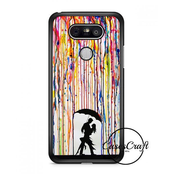 Dancing In The Rain Watercolor Art Lg G6 Case | casescraft