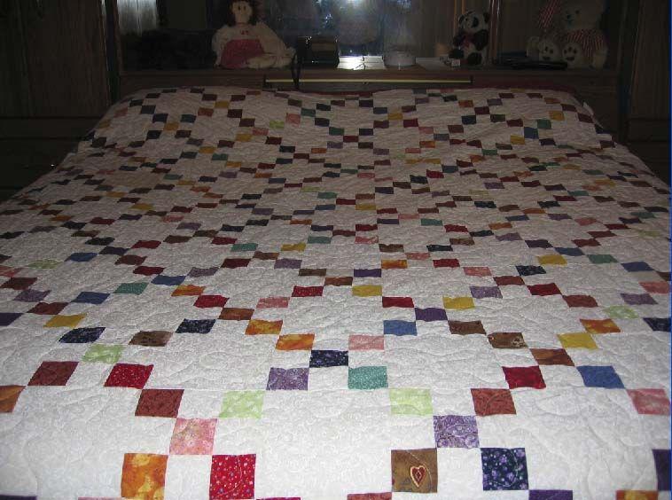 irish chain quilt pattern - Google Search Patchwork & Quilting Pinterest Irish chain quilt ...