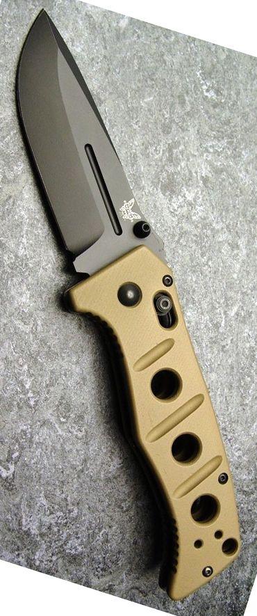 Benchmade - Adamas 275, Plain Drop-Point Tactical EDC Folding Pocket
