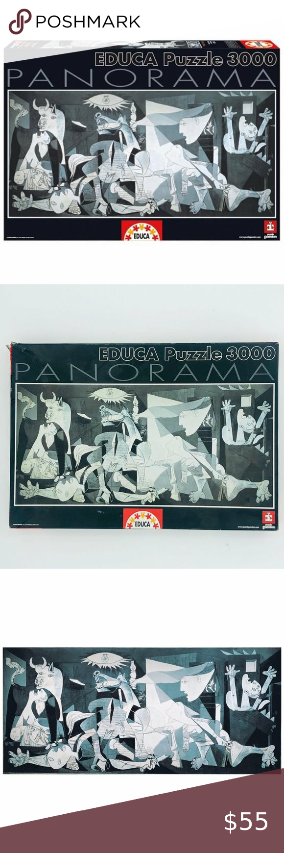 Pablo Picasso Guernica 3,000 piece Jigsaw Puzzle in 2020