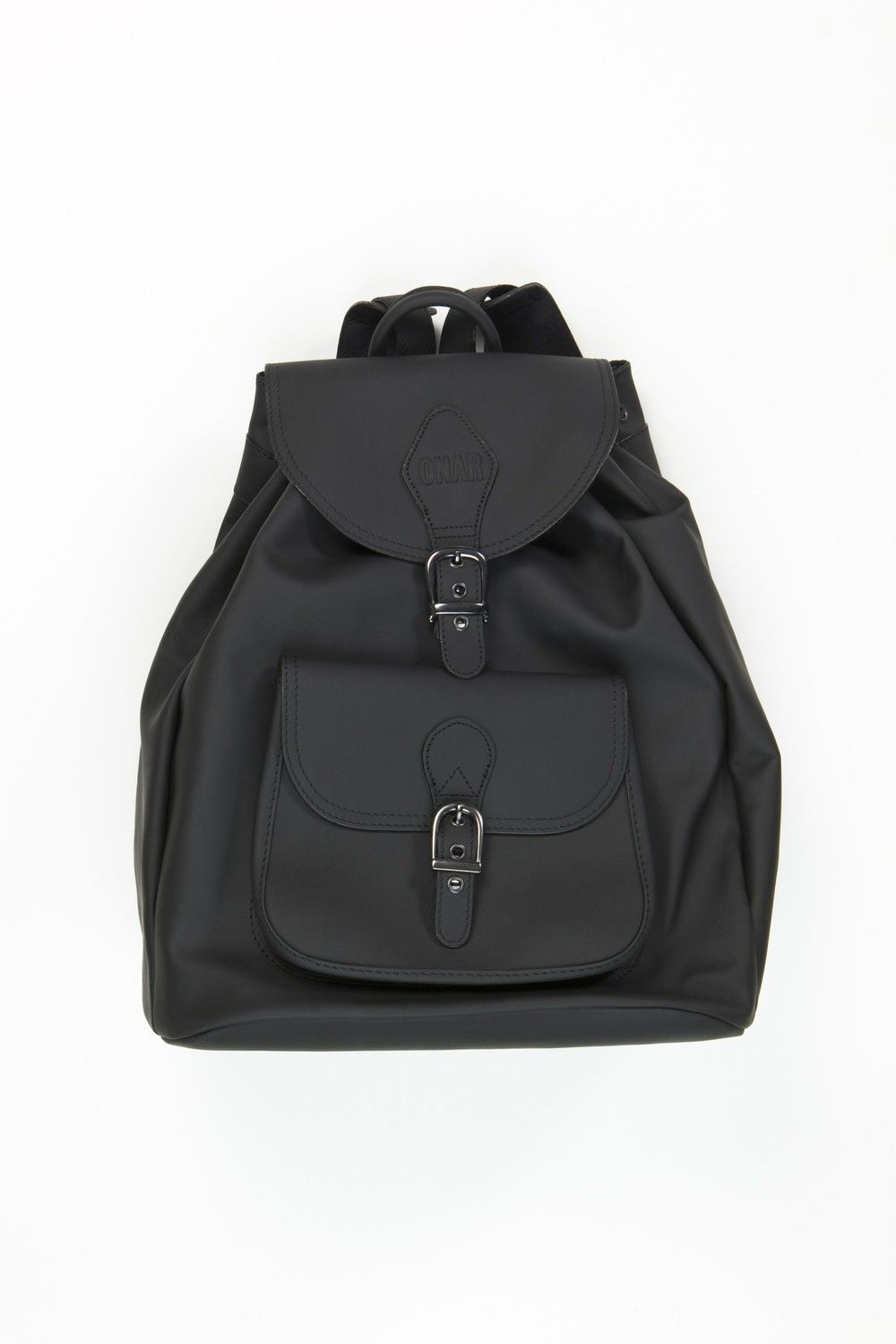 ONAR Stott backpack coal black via ONAR Studios. Click on the image to see more!