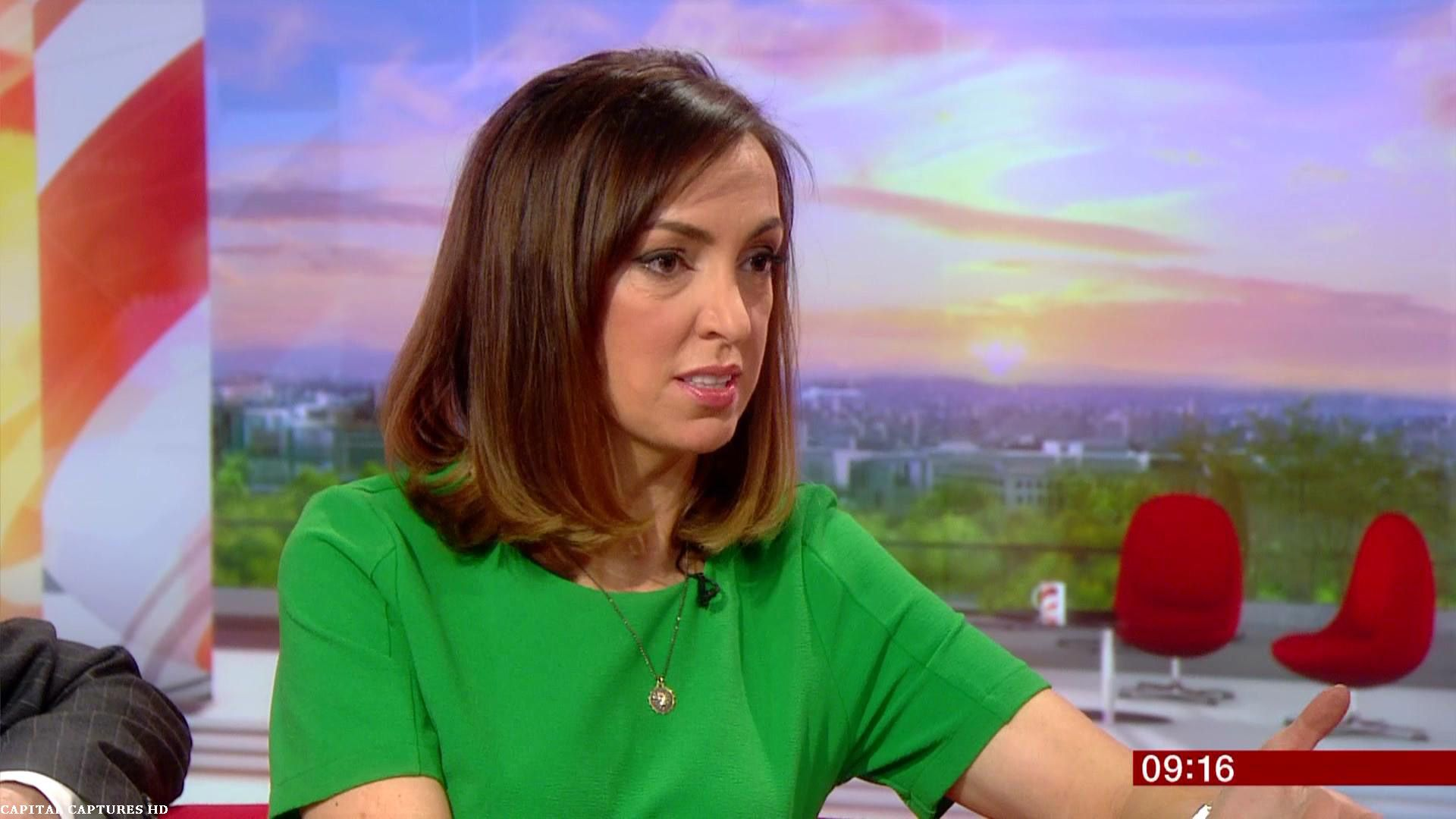 Sally Nugent, BBC Breakfast News Dark bob, Tv presenters