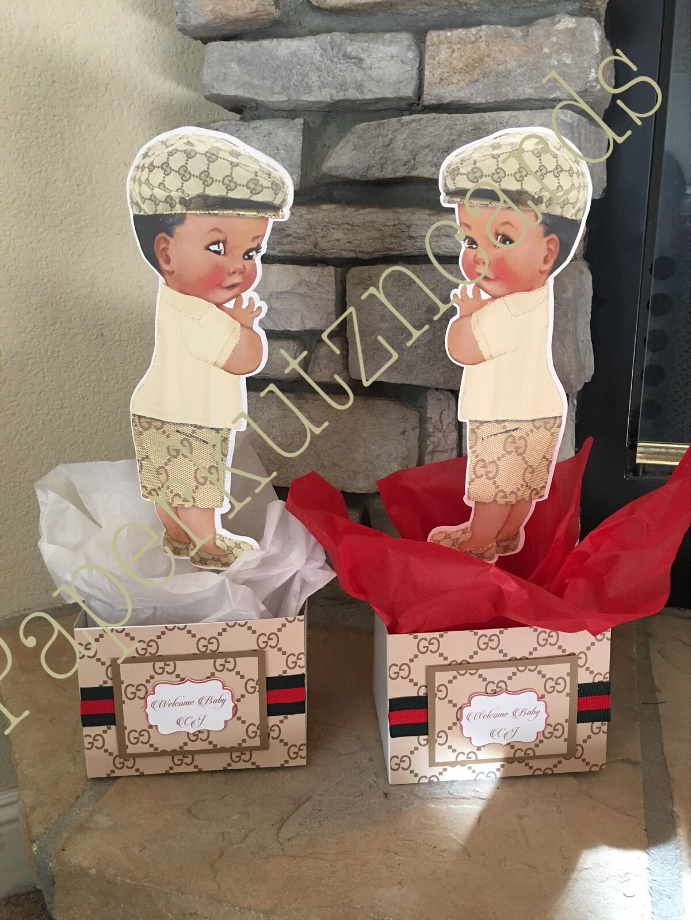 Gucci Inspired Baby Boy Baby Shower African American Baby Etsy