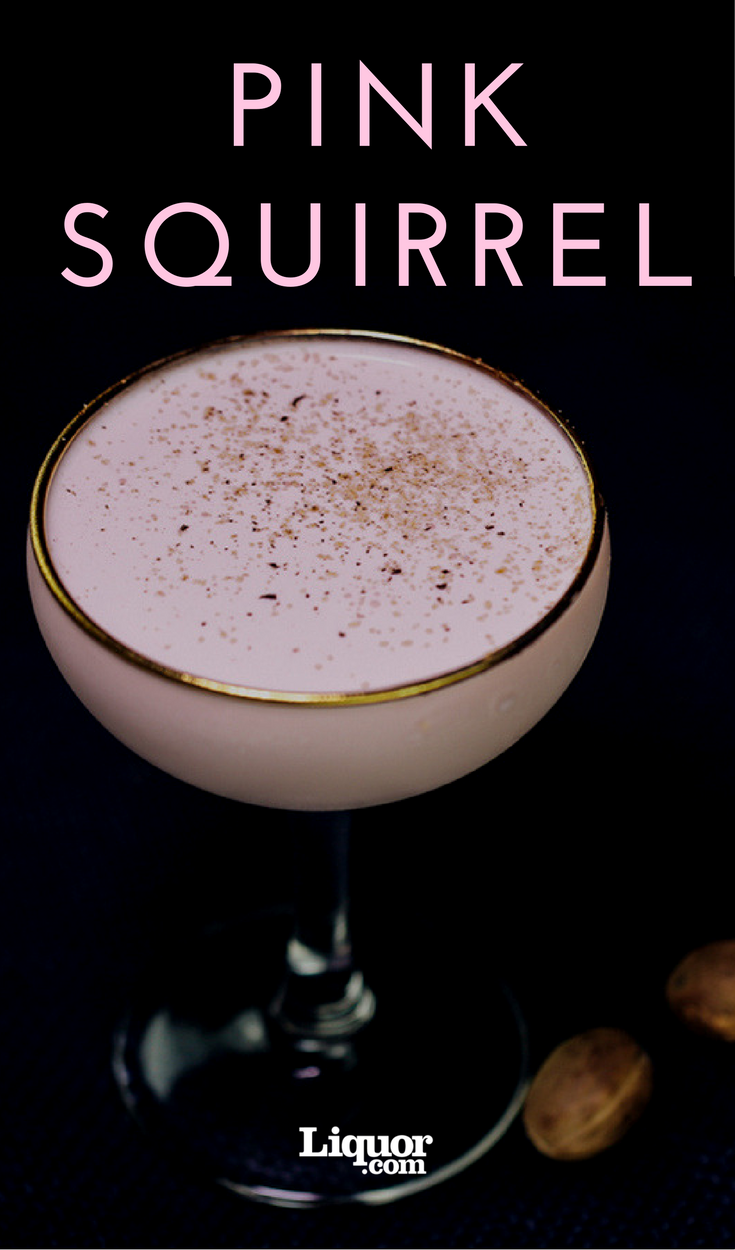 Dessert Drinks We Love: The Pink Squirrel