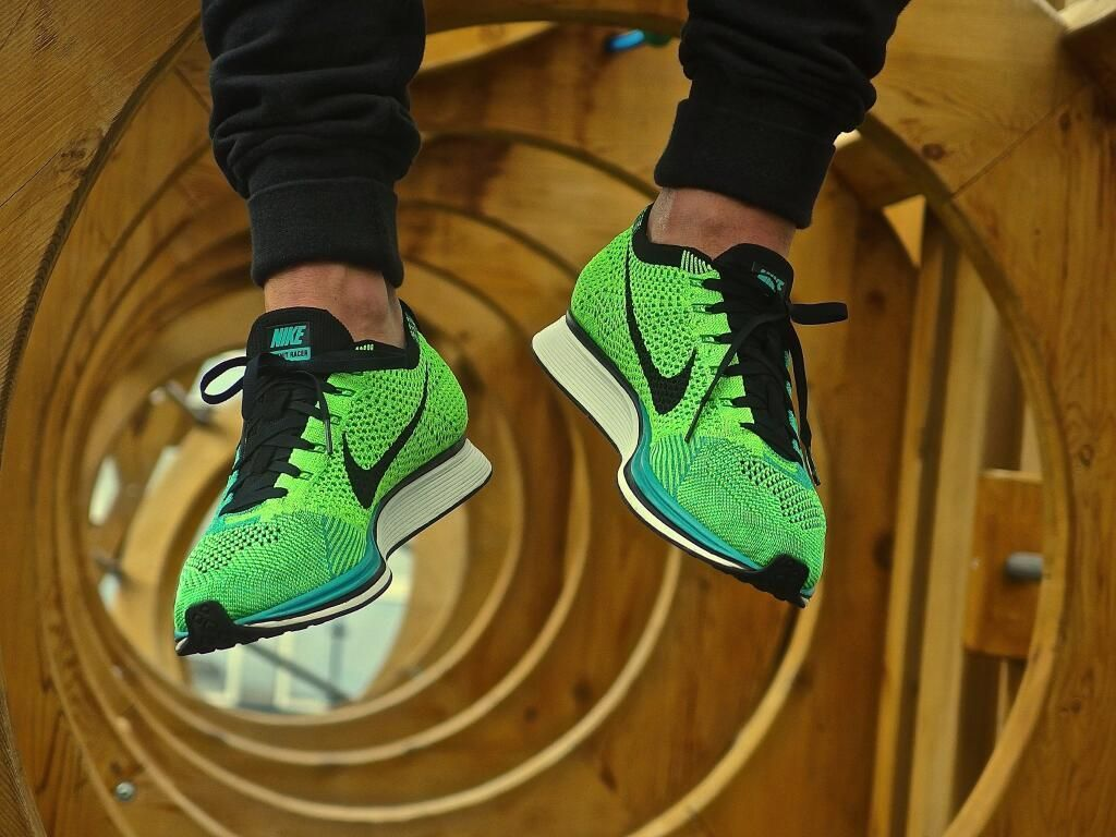 acedcd937307 Nike Flyknit Racer - Turquoise   Lucid Green (by willy le borgne ...