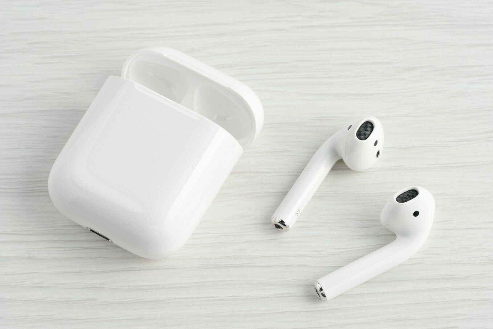 Apple Airpods 2nd Generation Wireless Earbuds Charging Case Mv7n2am A H1 Chip 2nd Ai Apple Airpods 2 Wireless Earbuds Earbuds