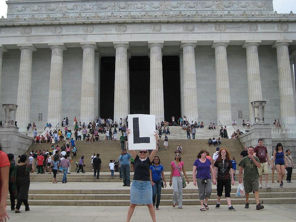 L... @ Lincoln Memorial
