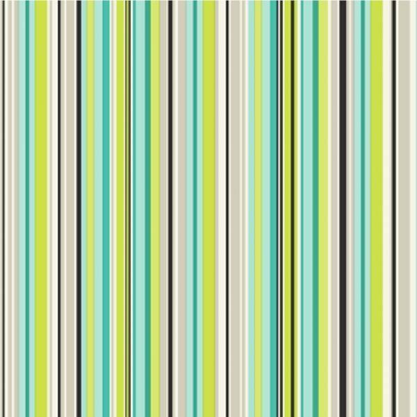 Verona green turqouise blue stripe wallpaper 100031