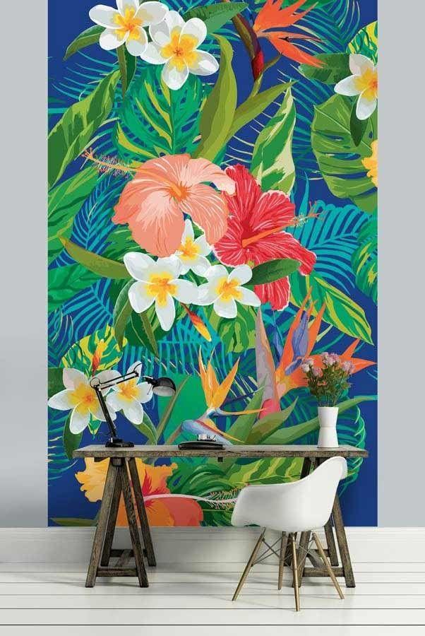 oiseau du paradis papier peint fleur sauvage de la jungle tropical pinterest oiseau du. Black Bedroom Furniture Sets. Home Design Ideas