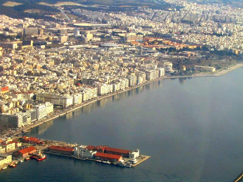 Thessaloniki, the capital of Macedonia, important financial and industrial center of Northern Greece.